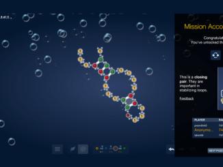 Solve puzzles to design molecular medicines.